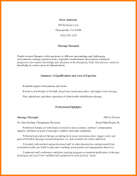 Massage Therapy Cover Letter Massage Therapy Cover Letter 11 Massage