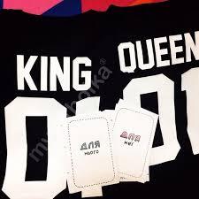 Парные <b>футболки</b> King & <b>Queen</b>. Печать на <b>футболках</b> именных ...