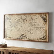 preferred wall art amazing framed world maps enchanting and large map regarding extra large framed wall