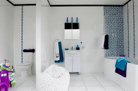 Tile Kids Bathroom With Ideas Picture