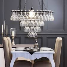 dining room an unique chandeliers for low ceilings