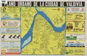 Plano urbano de la ciudad de Valdivia [material cartográfico] - Biblioteca  Nacional Digital de Chile