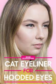 how to apply cat eyeliner to hooded eyes angela vitello