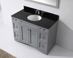 bathroom vanity black. 48\ Bathroom Vanity Black H