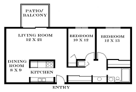 2 Bedroom Apartment Floor Plans  Luxury Home Design Ideas Apartments Floor Plans 2 Bedrooms
