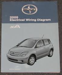 2005 toyota scion xa electrical wiring diagram service manual image is loading 2005 toyota scion xa electrical wiring diagram service