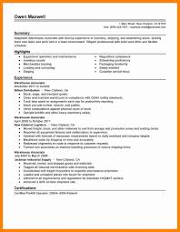 Objective For Warehouse Resume Resume For Study