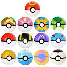 Set 13 Quả Bóng Pokemon Đồ Chơi Cho Bé