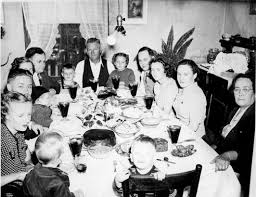 Image result for italian family around dinner table