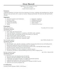 Factory Resume Examples Resume Sample Letter Factory Worker Resume
