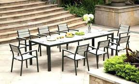 metal patio furniture outdoor dining sets new kitchen table chairs attractive lush poly vintage round