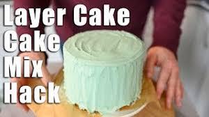 layer cake cake mix layer cake