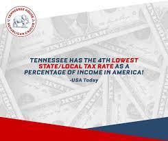 Tennessee Tax Chart