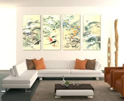 living room art decor ideas tall wall standing large design decorating walls with high ceilings