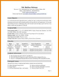 Extra Curricular Activities In Resume Sample 6 Extracurricular Activities  Resume Example .