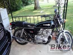 1978 suzuki gs 750 e specifications and