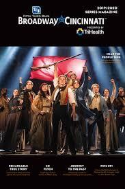 Broadway In Cincinnati 2019 2020 Program By Cincinnati