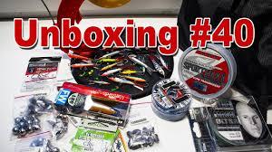 Unboxing #40 готовлюсь к зимнему сезону часть 2 LJ, Megabass ...