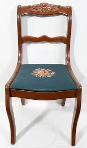 duncan phyfe furniture style Rose Back Chair