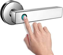 <b>Smart Biometric Fingerprint</b> Handle Door <b>Lock</b>, Safely Convenient ...