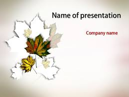 Free Fall Powerpoint Falling Leaves Powerpoint Template Downloads Free Templates