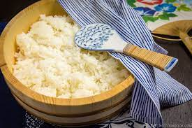 how to make sushi rice 酢飯 just one