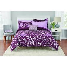 purple bedding bed in a bag