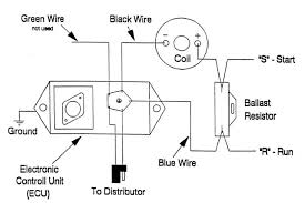 ignition coil ballast resistor wiring