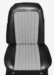 seat covers pair front bucket 1971 72 cheyenne deluxe houndstooth