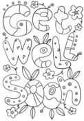 Small Picture Get Well Soon coloring pages Free Printable Pictures