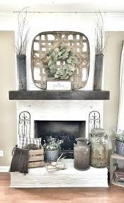 brick fireplace mantel decor painted white brick fireplace basket over fireplace brick fireplace mantel decor brick fireplace mantel decor