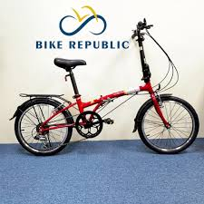 Folding bikes are what we're all about! Dahon Dream D6 Red 20 Folding Bike Ready Stock Bicycles Pmds Bicycles Others On Carousell