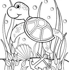 Small Picture Turtle coloring pages under the sea ColoringStar