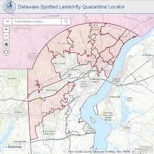 Tide Chart Lewes De 2017 Emergency Quarantine Declared For Spotted Lantern Fly