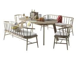 west elm outdoor furniture. west elm dexter dining set 3d model max 1 outdoor furniture
