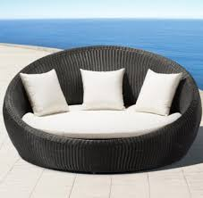 Round Outdoor Furniture Daybed