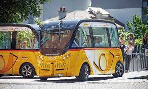 Image result for 自動運転車 スイスで世界最先端技術