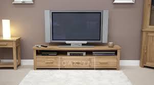 Large Tv Cabinets Edinburgh Solid Oak Large Tv Cabinet Oak Tv Stands