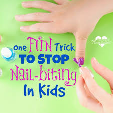 One Fun Trick To Stop Nail Biting In Kids Pint Sized Treasures
