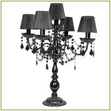 nice black chandelier lamp table home design beaumont 8 black chandelier table lamps