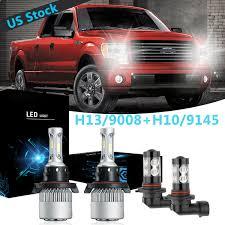 05 F150 Fog Light Bulb Details About H13 Led Headlight 9145 H10 Fog For 05 19 Ford F 250 F 350 Super Duty 04 14 F 150