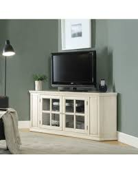 tv stands with glass doors prodigious spectacular deal on wooden corner tv stand antique decorating ideas