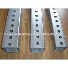 China Galvanized square tube4 galvanized square metal fence posts