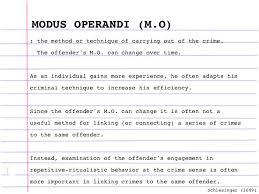 criminal profiling  19