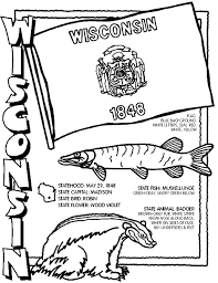 Small Picture Wisconsin Coloring Page crayolacom