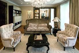 Living   Living Room With Art Deco Furniture Art Deco Interior - Livingroom deco