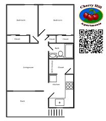 Small Bedroom Floor Plans Cherry Hill Apartments Floorplans