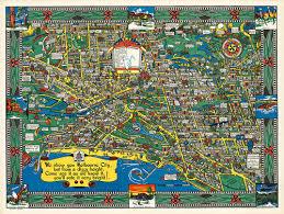 Melbourne map — satellite images of melbourne. Melbourne Wonder Map Of 1934