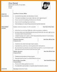 5 Cv Formats 2015 Word Theorynpractice