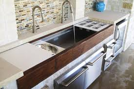 Sink With Cutting Board Granite Countertop Certified Cabinet Company Sink With Cutting